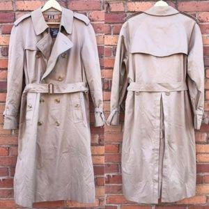 Burberry Women Trench Coat Khaki Nova Vintage L
